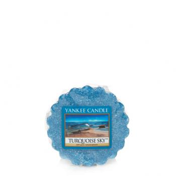 Bougie Yankee Candle Ciel Turquoise - Tartelette