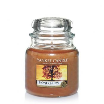 Bougie Yankee Candle Honey Glow - Moyenne Jarre