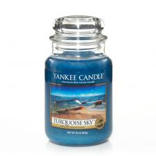 Bougie Yankee Candle Ciel Turquoise - Grande Jarre