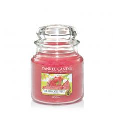 Bougie Yankee Candle Fruit Du Dragon Rose - Moyenne Jarre