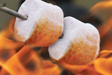 Marshmallows grillés
